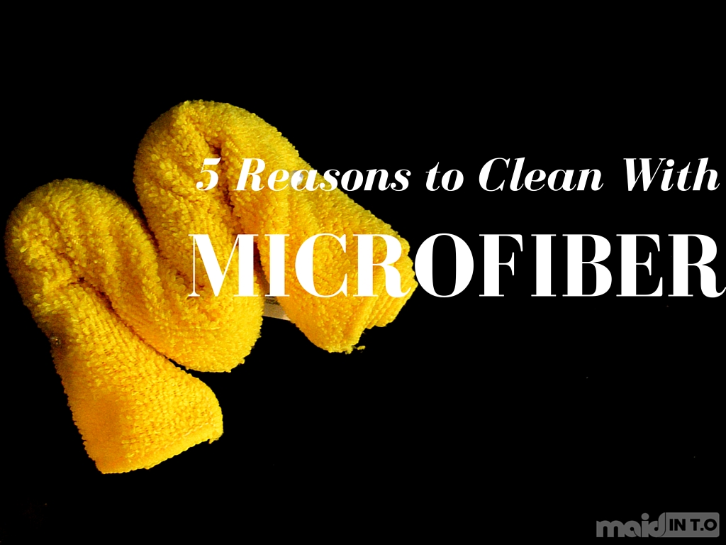 Clean with Microfiber