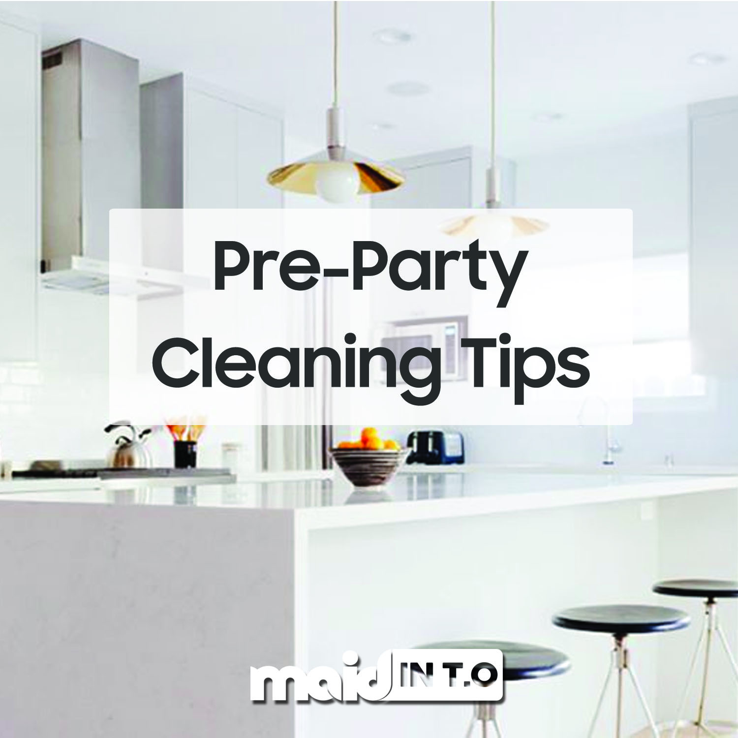 Pre-Party Cleaning Tips