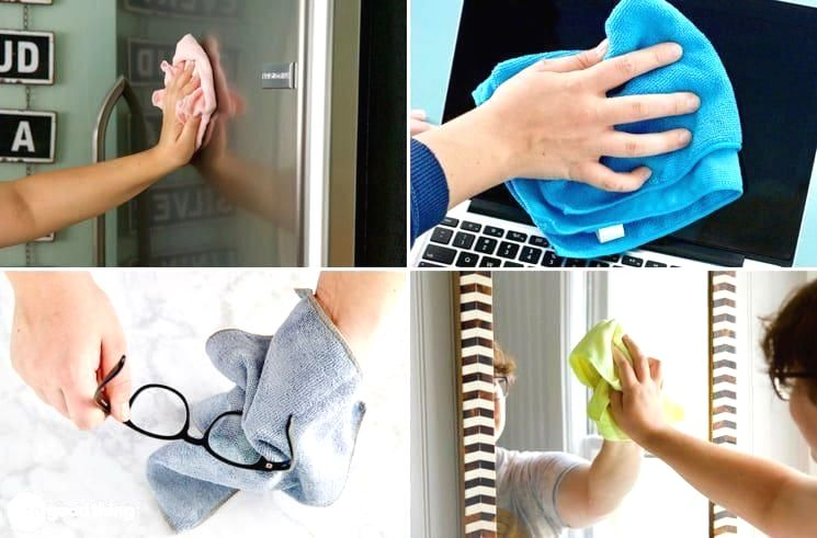 5 Reasons to Clean with Microfiber